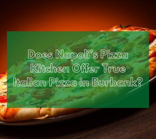 pizza Burbank
